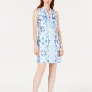 New Laundry Shelli Segal Embellished Shift Dress